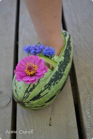 Поделка туфельки