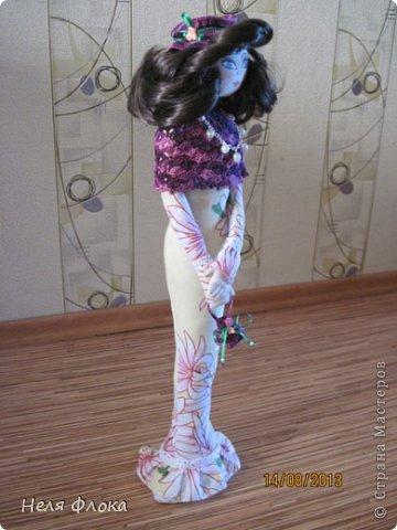 Леди - текстильная статуэтка по мотивам работ Ирины Устич фото 6