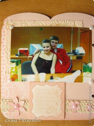 Скрап-альбом на годовщину свадьбы фото 3