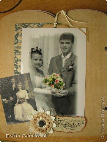Скрап-альбом на годовщину свадьбы фото 5