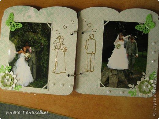 Скрап-альбом на годовщину свадьбы фото 9