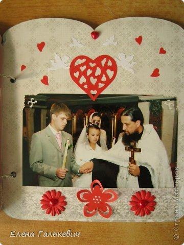 Скрап-альбом на годовщину свадьбы фото 11