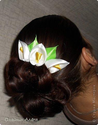 гребешок с цветами фото 1