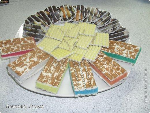 """Хочу похвастаться своим печеньем. Это вторая моя поделка на конкурс """"Сладости"""" https://stranamasterov.ru/user/173390.  Когда я сделала конфеты и шоколадки, то поняла, что к чаю просто обязательно надо приготовить печенье. Результат перед Вами. фото 7"""