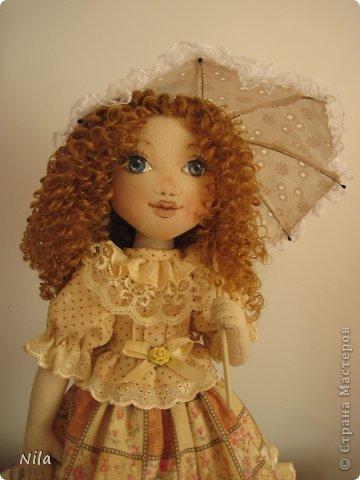 ТекстильнаЯ кукла Бекки фото 6