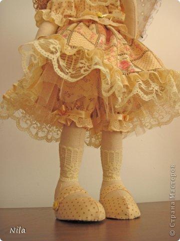 ТекстильнаЯ кукла Бекки фото 5