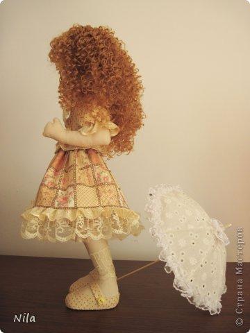 ТекстильнаЯ кукла Бекки фото 4
