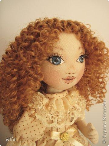ТекстильнаЯ кукла Бекки фото 1