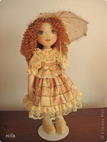 ТекстильнаЯ кукла Бекки фото 2