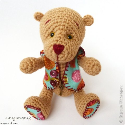 Амигуруми Медвежонок В