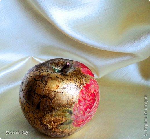 Декор предметов Декупаж Кракелюр Яблочный спас Краска Салфетки фото 9
