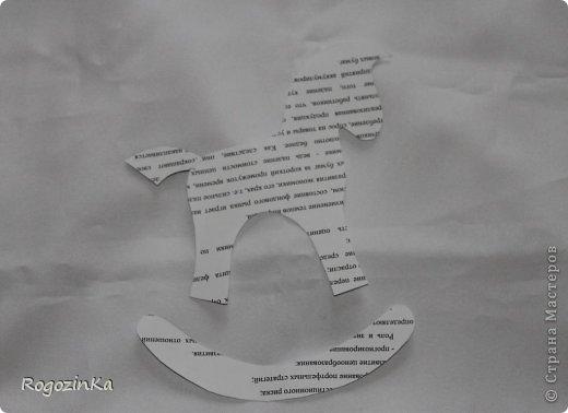 Мастер-класс Поделка изделие Новый год Шитьё Елочные коняшки МК по изготовлению Ленты Пряжа Тесьма шнур Ткань фото 3