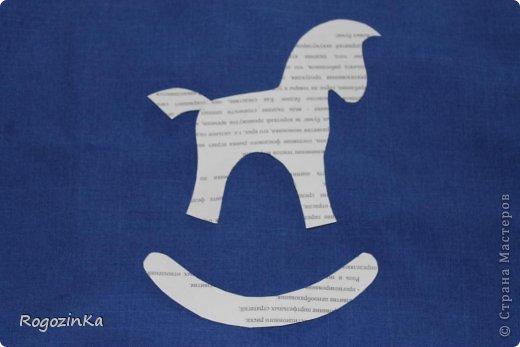 Мастер-класс Поделка изделие Новый год Шитьё Елочные коняшки МК по изготовлению Ленты Пряжа Тесьма шнур Ткань фото 4