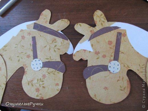 Декор предметов Мастер-класс Ассамбляж Шоколадница-лошадка  фото 9