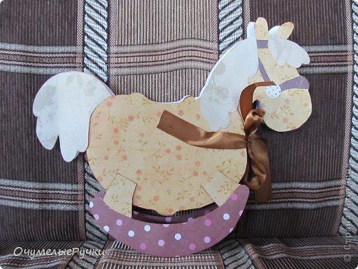 Декор предметов Мастер-класс Ассамбляж Шоколадница-лошадка  фото 1