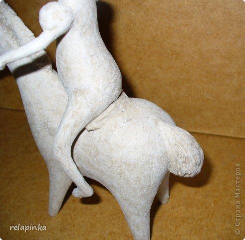 Мастер-класс Поделка изделие 23 февраля Папье-маше Принц на лошадке мастер-класс Бумага фото 29