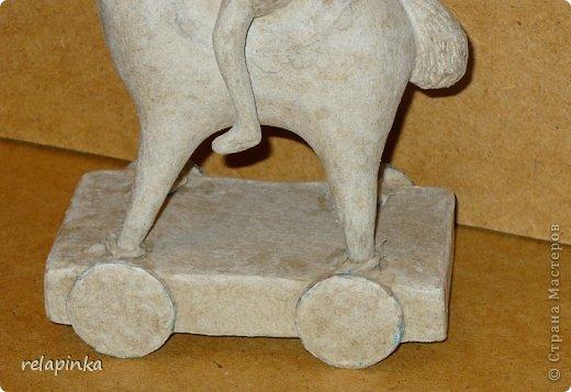 Мастер-класс Поделка изделие 23 февраля Папье-маше Принц на лошадке мастер-класс Бумага фото 39