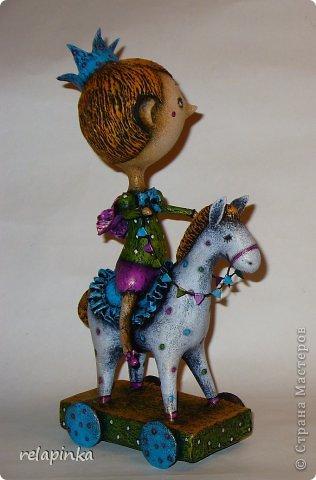 Мастер-класс Поделка изделие 23 февраля Папье-маше Принц на лошадке мастер-класс Бумага фото 48