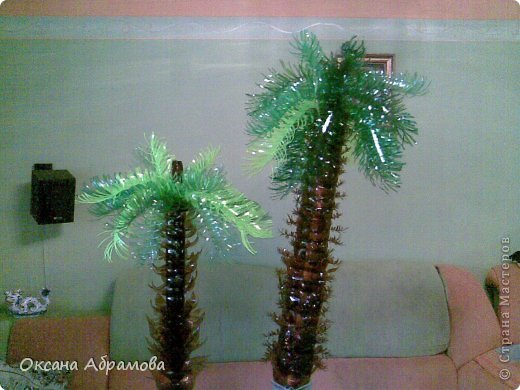 конструирование Пальма из