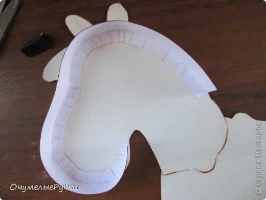 Декор предметов Мастер-класс Ассамбляж Шоколадница-лошадка  фото 15