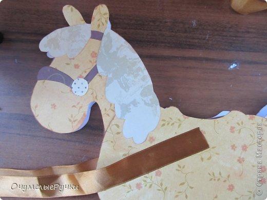 Декор предметов Мастер-класс Ассамбляж Шоколадница-лошадка  фото 20