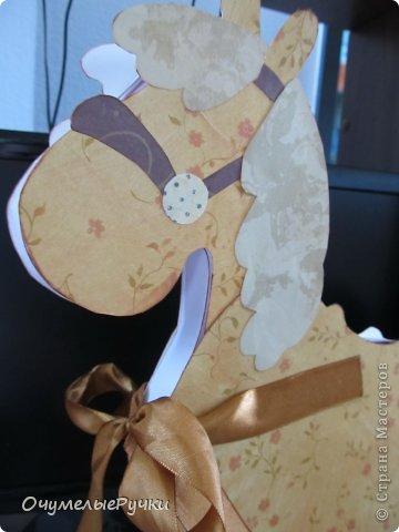 Декор предметов Мастер-класс Ассамбляж Шоколадница-лошадка  фото 21