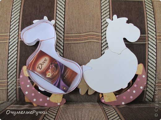 Декор предметов Мастер-класс Ассамбляж Шоколадница-лошадка  фото 26