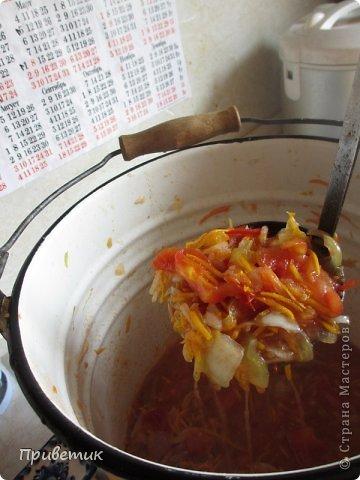 Хочу поделиться с вами, мои дорогие, уникальным рецептом! Называется сей продукт- Халявка. Рецепт подарила мне мама моей подруги- сама она была родом из Белоруссии, готовила тАк, что до сих пор помним, а ее уже давно нет с нами. Вот уже 20 лет я ежегодно готовлю только эту заготовку. Бывает, пробую новые рецепты, но халявка всегда! Это 1 порция на 3 килограмма помидоров.  фото 15