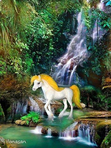 Игрушка Мастер-класс Валяние фильцевание Лошадь из шерсти Пластика Пряжа Шерсть фото 1