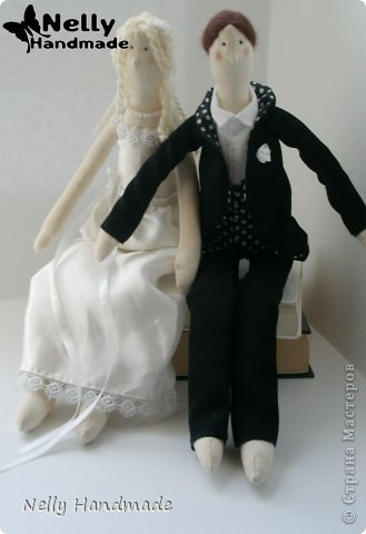 Тильда жених и невеста + выкройка