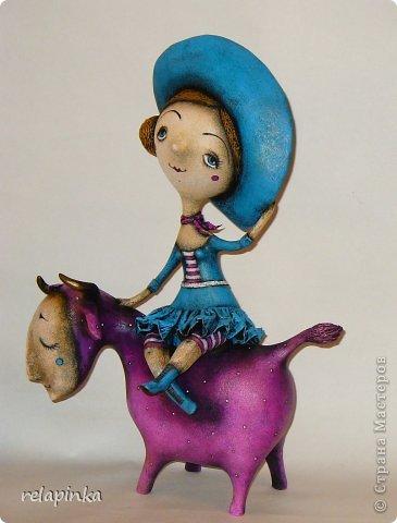 Куклы Папье-маше Муза и поэт Бумага фото 3