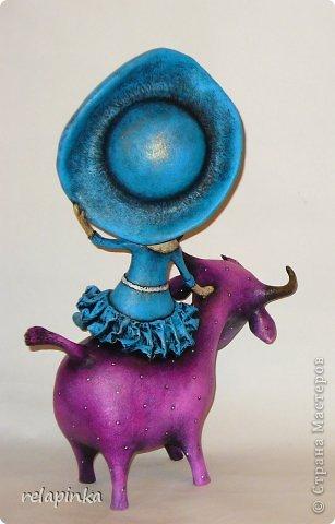 Куклы Папье-маше Муза и поэт Бумага фото 4