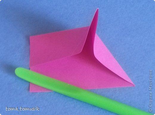 Мастер-класс Начало учебного года Оригами Подарки первоклассникам Бумага фото 40