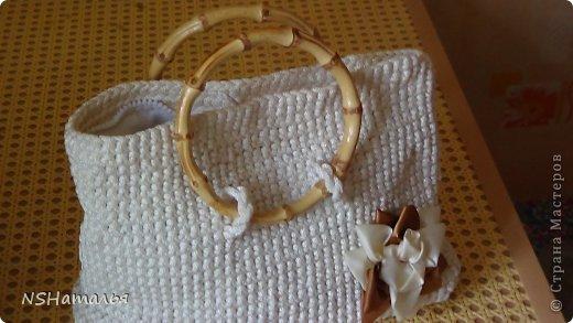 Вязание на бельевой веревке 27