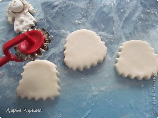 Добрый день! Выполняю свое обещание - выкладываю небольшой МК по созданию магнитиков - ангелочков! фото 4