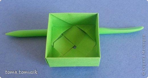 Мастер-класс Начало учебного года Оригами Подарки первоклассникам Бумага фото 5