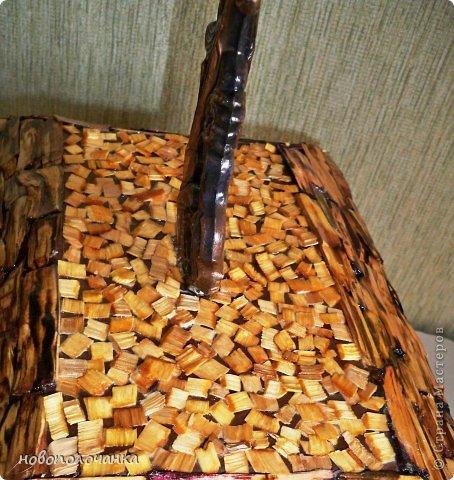Изделия из березовых карандашей 156