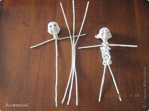 Проволочные каркасы для кукол своими руками