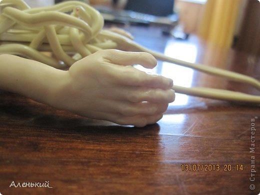 Куклы Мастер-класс Лепка Слепим вместе? Пластика фото 20