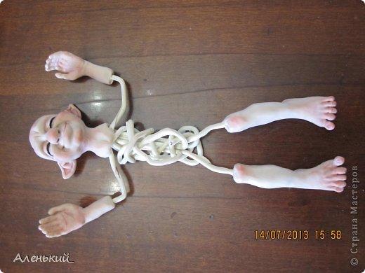 Куклы Мастер-класс Лепка Слепим вместе? Пластика фото 22