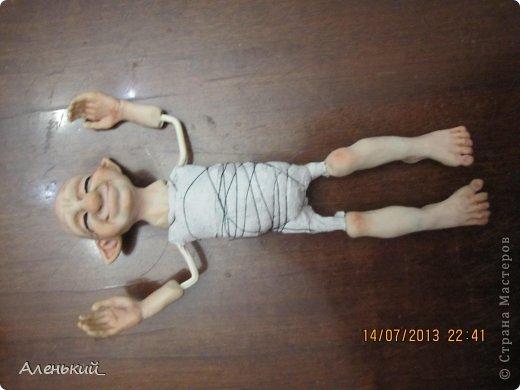 Куклы Мастер-класс Лепка Слепим вместе? Пластика фото 23