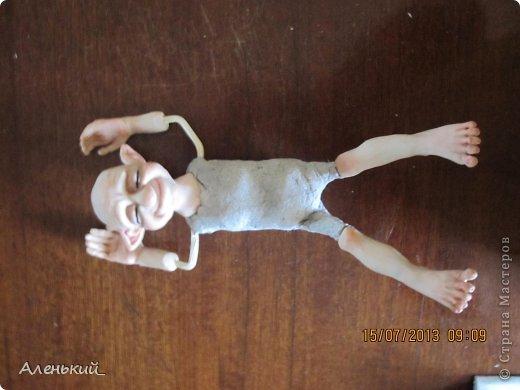 Куклы Мастер-класс Лепка Слепим вместе? Пластика фото 24
