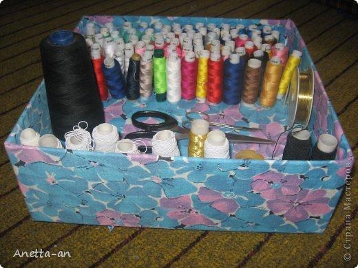 Коробочка для швейных ниток своими руками 9