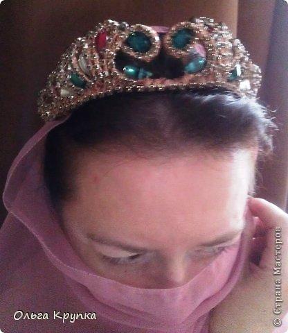 Мастер-класс Украшение Моделирование конструирование Корона в Османском стиле + обещанный МК Проволока фото 2