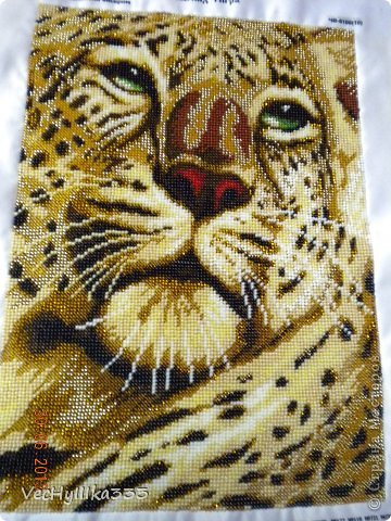 тигра Вышивка бисером