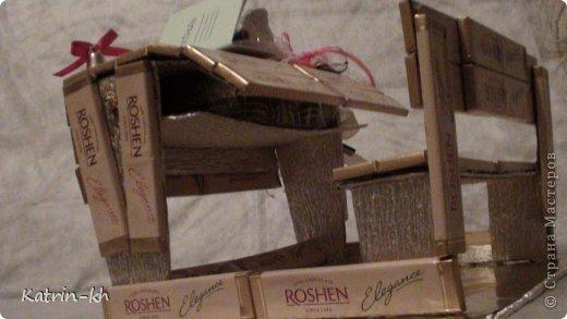 Мастер-класс Свит-дизайн Начало учебного года Моделирование конструирование Школьная парта Бумага гофрированная Картон Ленты Продукты пищевые фото 13