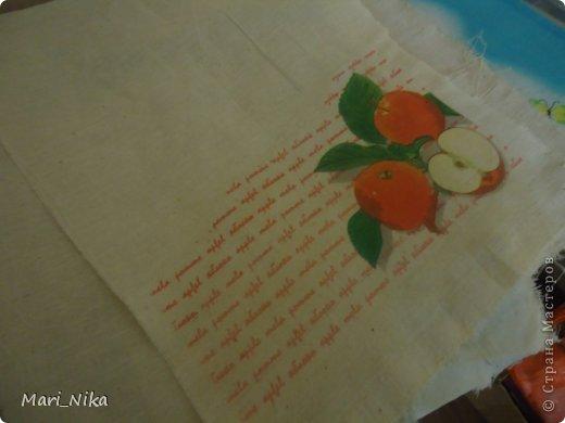 Декор предметов Мастер-класс Декупаж Шитьё Декупаж на ткани первый опыт Салфетки Ткань фото 12