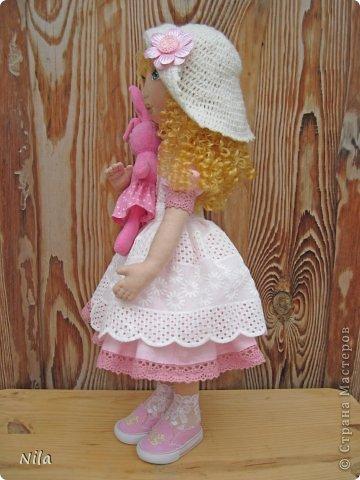 Текстильная кукла Алеся фото 4