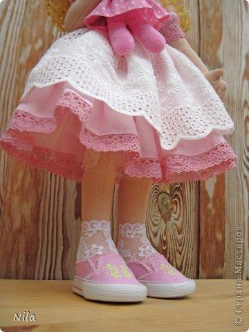 Текстильная кукла Алеся фото 5