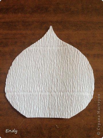 Как сделать цветы каллы из гофрированной бумаги 11